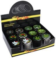 Grinder ''Cannabis'' 4 Parts 40mm