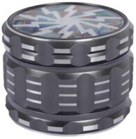 Grinder Rocket Gray 4tlg