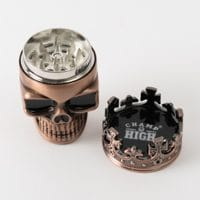 CHAMP Metal Skull Grinder 7.5 cm 3 Parts