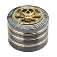 CHAMP High Bling Bling Skull Grinder 4 Parts