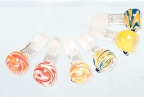 Boost Mixed Colors Glass Bowls- SG:18.8mm