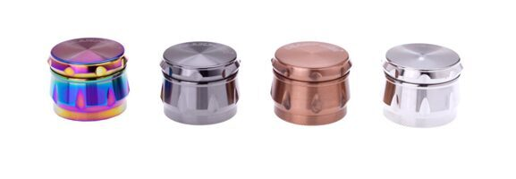 CHAMP 4 Col Drum Grinder 39 mm 4 Parts